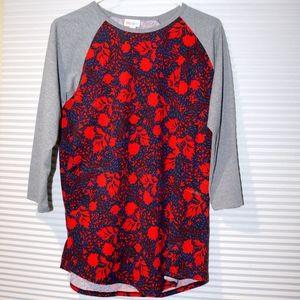 LuLaRoe floral tunic top